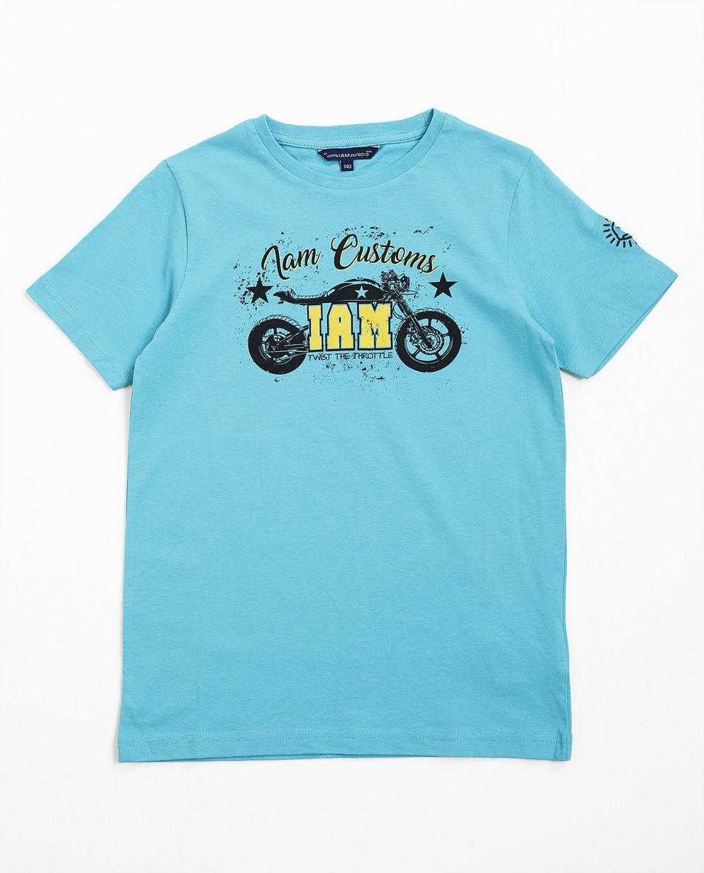 T-Shirt mit Print - aus Biobaumwolle, I AM - I AM